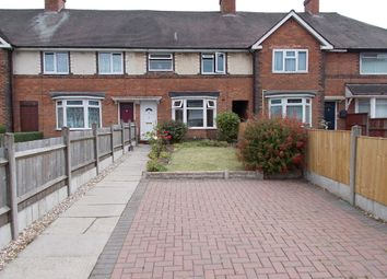 Thumbnail 3 bed terraced house for sale in Drews Lane, Ward End