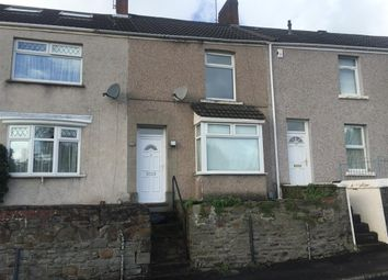 Thumbnail 2 bedroom terraced house to rent in Graig Terrace, Mount Pleasant, Swansea