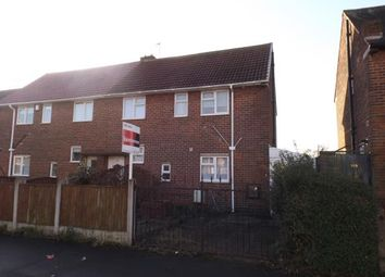 Thumbnail 3 bed semi-detached house for sale in Salterford Road, Hucknall, Nottingham, Nottinghamshire