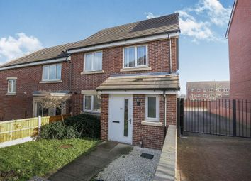 Thumbnail 3 bed end terrace house for sale in Millport Road, Monmore Grange, Wolverhampton
