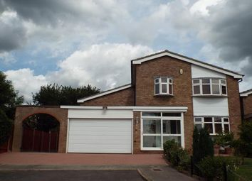 Thumbnail 4 bed detached house for sale in Shearsby Close, Wigston, Leicestershire