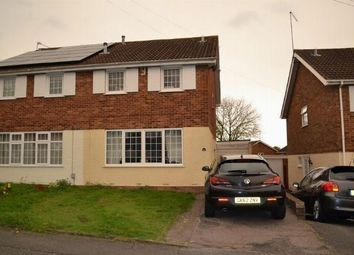 Thumbnail 3 bedroom semi-detached house for sale in Aintree Road, Parklands, Northampton