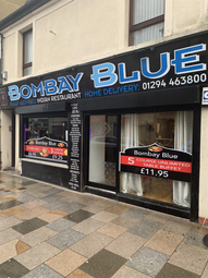 Thumbnail Restaurant/cafe for sale in Countess Street, Saltcoats