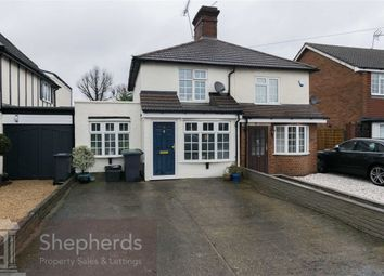 Thumbnail 3 bed semi-detached house for sale in Cuffley Hill, Goffs Oak, Hertfordshire