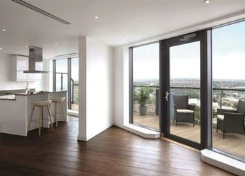 Thumbnail 3 bed flat to rent in Pinnacle Tower, Fulton Road, Wembley