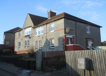 Thumbnail 2 bed flat to rent in Burns Crescent, Airdrie, North Lanarkshire