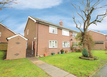 Thumbnail 2 bed flat for sale in Magnolia Close, Shrewsbury, Shropshire