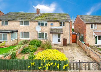 Thumbnail 3 bed semi-detached house for sale in Glastonbury Road, Corby