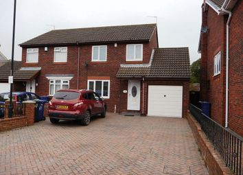 Thumbnail 3 bed semi-detached house to rent in Wesley Way, Throckley, Newcastle Upon Tyne