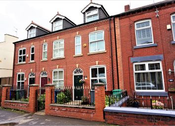 Thumbnail 4 bed town house for sale in Belgrave Road, Manchester