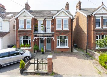 Thumbnail 4 bed semi-detached house for sale in Norman Road, West Malling