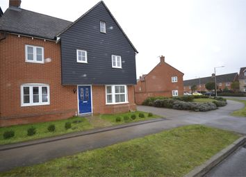 Thumbnail 4 bedroom detached house to rent in Walson Way, Stansted