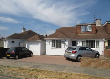 Thumbnail 4 bed semi-detached bungalow for sale in Ingleside Crescent, Lancing