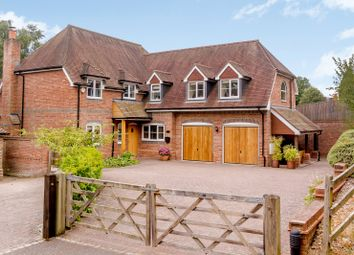 Thumbnail 4 bed detached house for sale in Garden Close Lane, Newbury