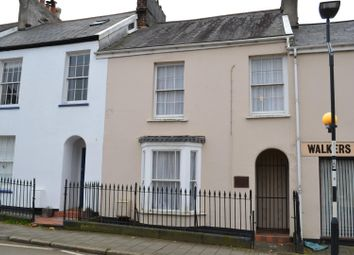 Thumbnail 4 bedroom terraced house for sale in Newport Road, Barnstaple