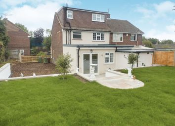 Thumbnail 3 bed semi-detached house for sale in Robin Hood Drive, Bushey