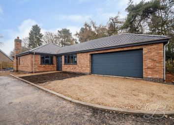 Thumbnail 3 bed detached bungalow for sale in Berry Hill Lane, Mansfield
