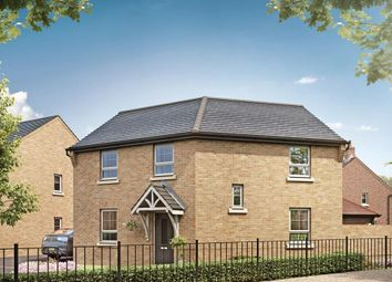 "Thumbnail 3 bed detached house for sale in ""Lutterworth"" at Grange Road, Hugglescote, Coalville"