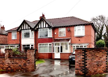 Thumbnail 4 bed semi-detached house for sale in Woodland Avenue, Hazel Grove, Stockport