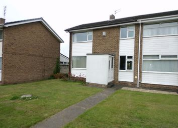 Thumbnail 2 bed semi-detached house for sale in Thirston Drive, Cramlington