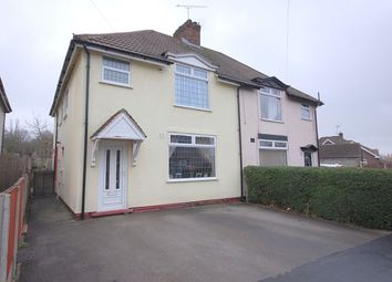 Thumbnail 4 bed semi-detached house for sale in Norman Road, Ripley