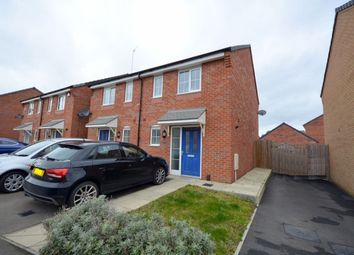 Thumbnail 2 bedroom semi-detached house for sale in Damselfly Road, Dragonfly Meadows, Northampton
