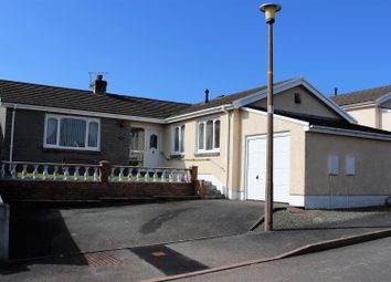 Thumbnail 4 bed bungalow for sale in Hazel Grove, Llanstadwell, Milford Haven
