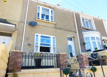 Thumbnail 3 bed terraced house for sale in Kinley Street, St. Thomas, Swansea