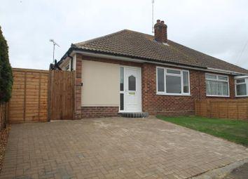 Thumbnail 2 bed semi-detached bungalow to rent in Bonham Close, Clacton-On-Sea, Essex