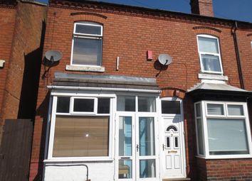 Thumbnail 3 bedroom terraced house to rent in Silver Street, Kings Heath, Birmingham