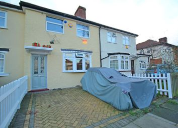 Thumbnail 3 bed terraced house for sale in Leighton Road, Enfield