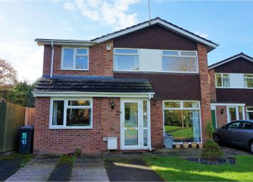 Thumbnail 4 bed detached house for sale in Saxon Road, Stafford