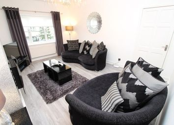 Thumbnail 3 bed flat for sale in Moorpark Drive, Penilee, Hillington, Lanarkshire