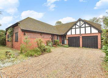 Thumbnail 4 bed detached bungalow for sale in Headley Down, Bordon, Hampshire
