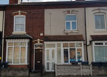 Thumbnail 2 bed terraced house to rent in Nechells Park Road, Nechells, Birmingham