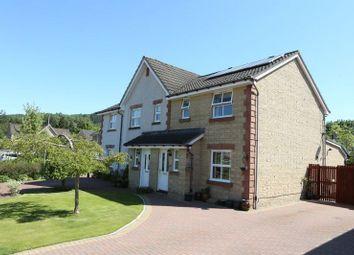 Thumbnail 3 bed semi-detached house for sale in Whitehaugh Park, Peebles