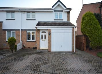 Thumbnail 3 bed semi-detached house for sale in Redshank Close, Washington