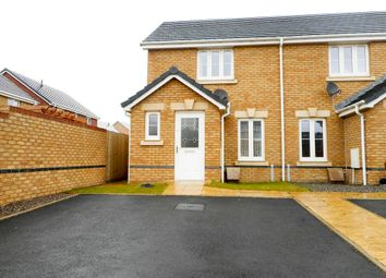 Thumbnail 2 bed semi-detached house for sale in Worcester Court, Tonyrefail