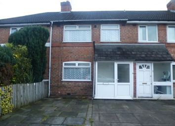 Thumbnail 3 bed terraced house for sale in Wildfell Road, Acocks Green, Birmingham