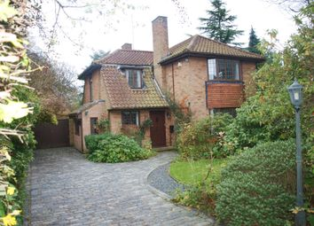 Thumbnail 3 bed detached house to rent in Wambrook Close, Hutton Mount