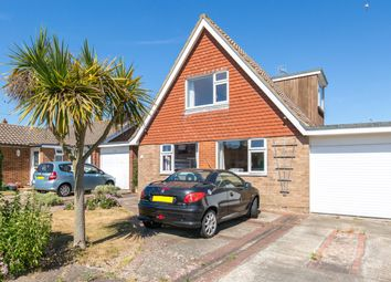 Thumbnail 3 bed detached house for sale in Alfriston Close, Worthing, West Sussex