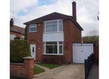 Thumbnail 3 bed detached house for sale in Hunt Lea Avenue, Grantham