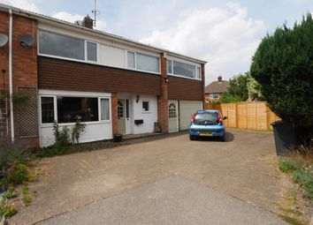 Thumbnail 4 bed semi-detached house to rent in Rufford Close, Burbage