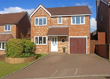 Thumbnail 4 bed detached house for sale in Holcombe Drive, Macclesfield, Cheshire