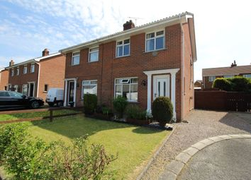 Thumbnail 3 bed semi-detached house for sale in Primacy Road, Bangor