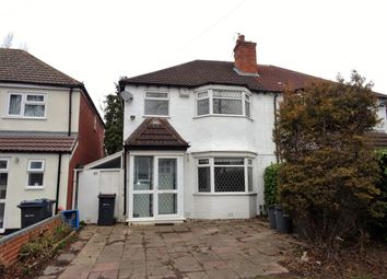 Thumbnail 3 bed semi-detached house to rent in Scribers Lane, Hall Green, Birmingham