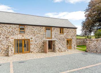 Thumbnail 3 bed barn conversion for sale in Warracott Farm Barns, Chillaton, Lifton, Devon
