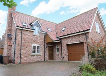 Thumbnail 4 bed detached house to rent in Chapel Lane, Little Hale, Sleaford
