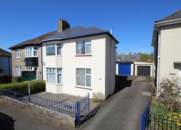 Thumbnail 3 bed semi-detached house for sale in Belle Vue Gardens, Brecon