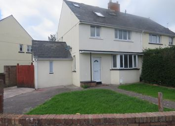 Thumbnail 4 bed semi-detached house for sale in Elizabeth Avenue, Barry